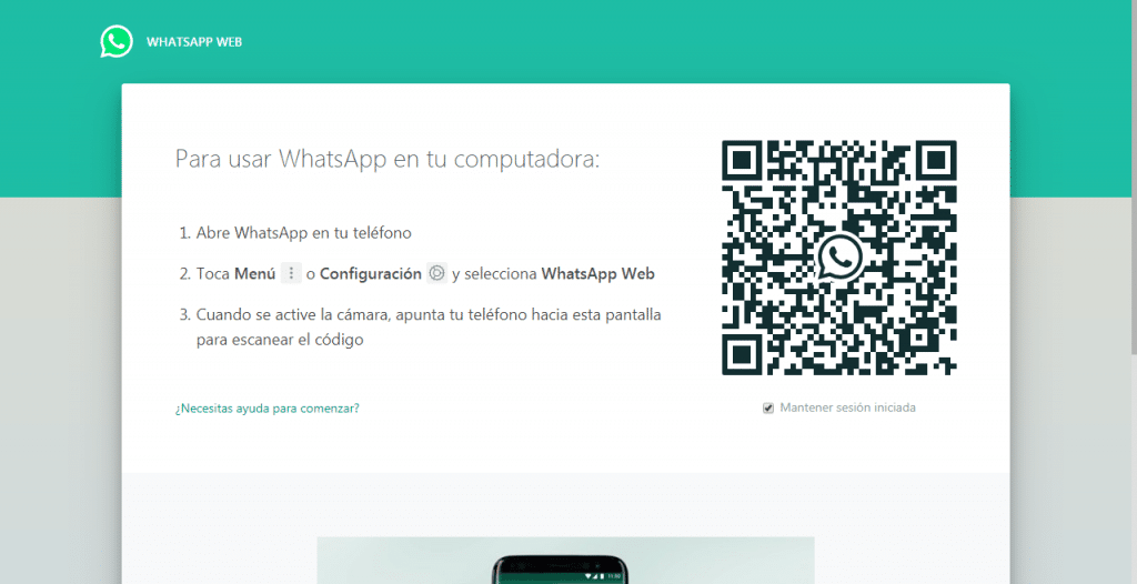 recupear fotos whatsapp web